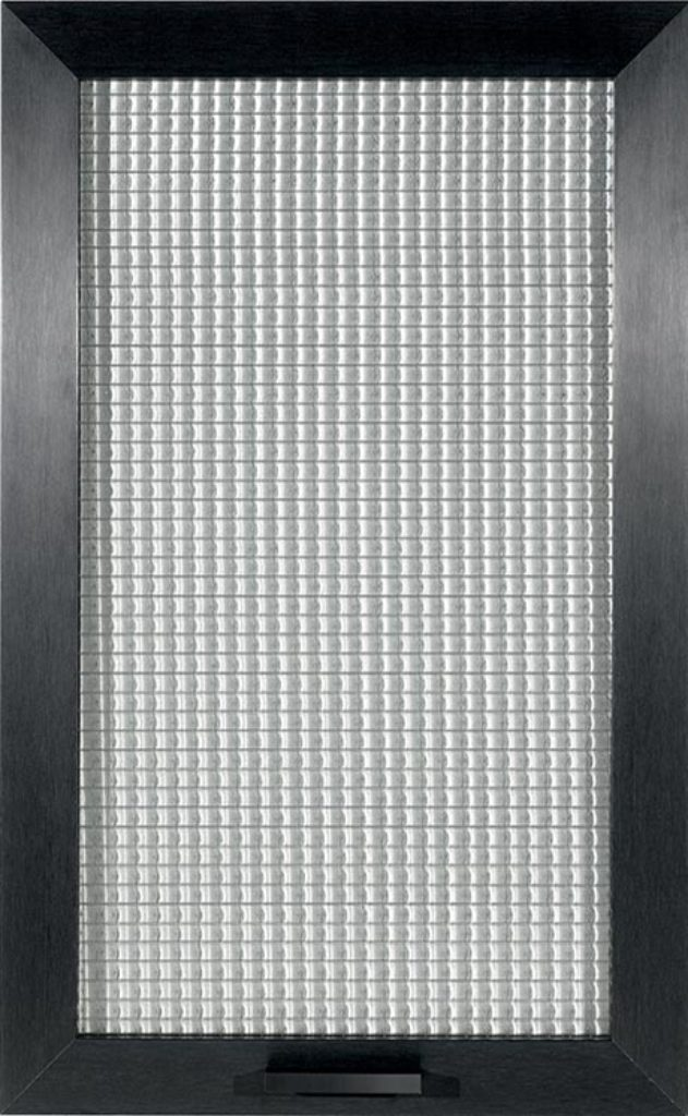 glass mesh door
