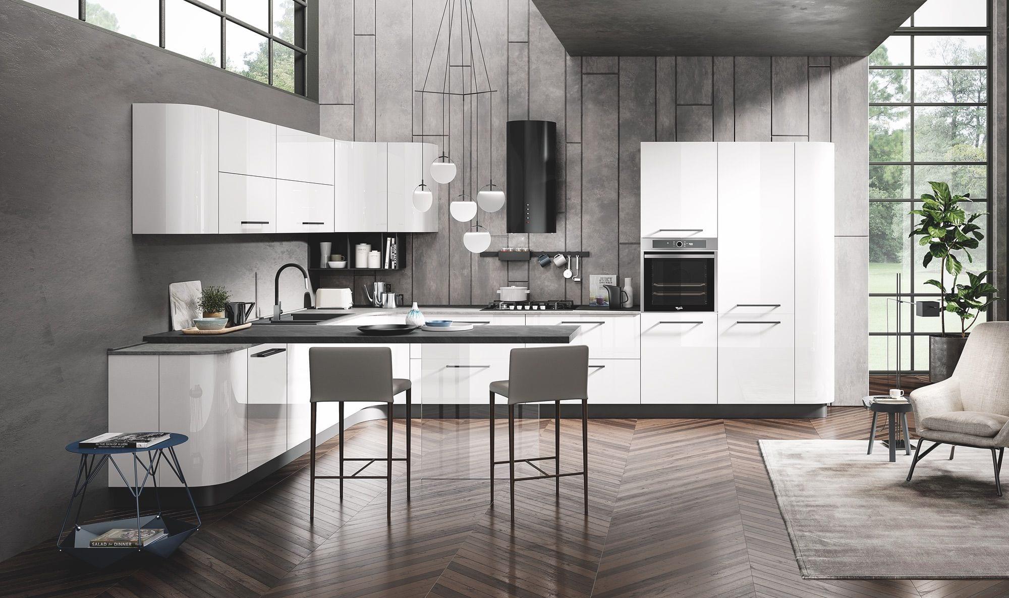 Cucine con isola, soluzioni di tendenza per un design ...