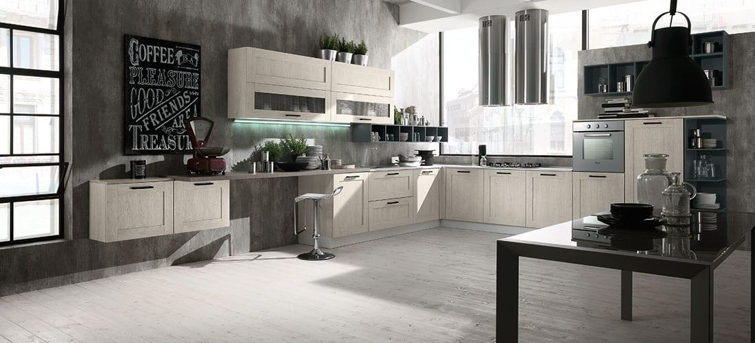 Cucina stile industriale: una cucina dall\'animo ribelle come ...