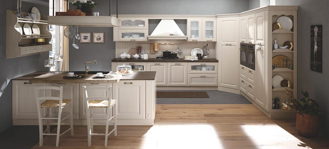 Cucina stile provenzale: Olimpia. La cucina richiama i ...