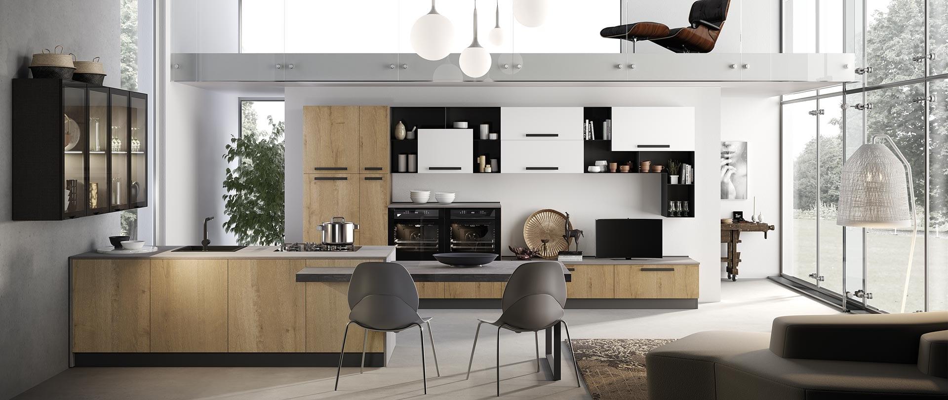 Cucina rovere è la nuova nata in casa Mobilturi: Nala