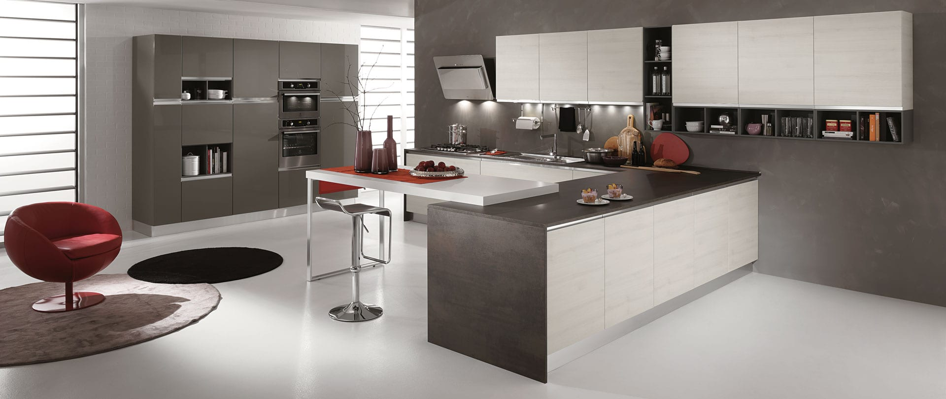 01-cucina-moderna-newmeg-tranche-ghiaccio-grigio-polvere