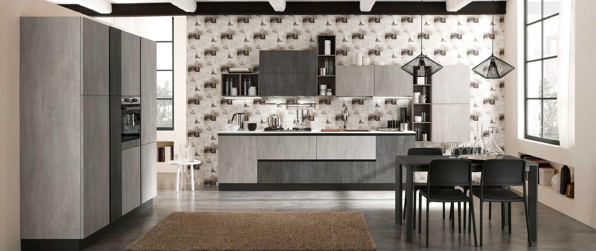 cucina-moderna-zen-argento-e-lavagna-cemento